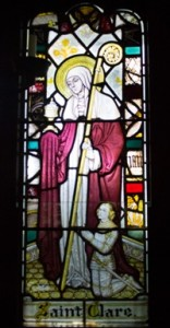 The Saint Clare window
